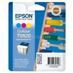 Картридж Epson T0520 C13T05204010 для Stylus Color 400/440/460/600/640/660/670/740/760/800/1520/1160