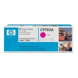 Картридж HP CLJ 1500/2500 Magenta C9703A